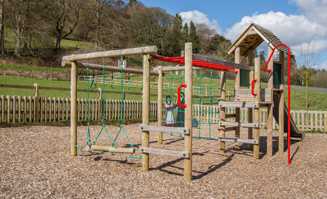 A fantastic play park is available at the centre.