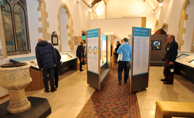 Mary Jones World tells the story of a 15-year-old girl who walked 26 miles to get a Bible, through interactive displays.