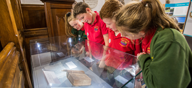 Pupils will be able to see a facsimile one of the Mary Jones Bibles at the centre.